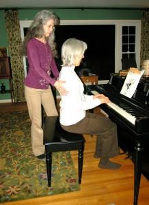 Alexander Technique Lesson at the Piano