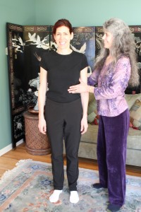 Lisa Galbraith teaching the Alexander Technique